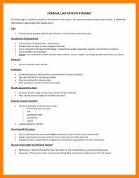biology lab report template 3 biology lab report layout skill in resume
