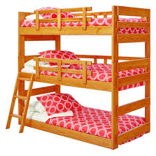 Safety Rail For Bunk Bed Woodcrest Heartland Bunk Bed Kitchen Dining