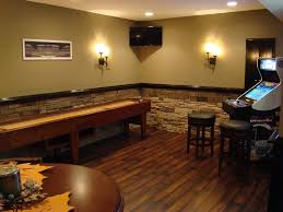 Inexpensive Basement Finishing Ideas Basement Wall Ideas Agreeable Interior Design Ideas