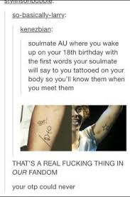 larry stylinson matching tattoos
