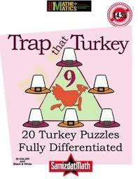 191 best thanksgiving math activities images on math