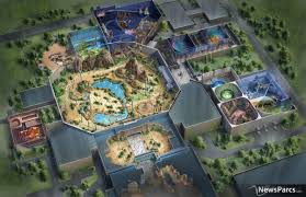 San Diego Safari Park Map by Newsparcs Thinkwell Completes Design Of Jurassic Dream Indoor