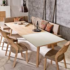 Beech Kitchen Table by Contemporary Dining Table Oak Beech Rectangular V Montana