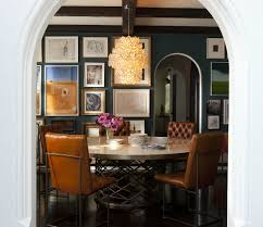 navy blue paint colors transitional dining room benjamin