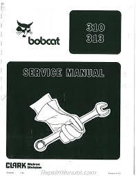 bobcat equipment manuals repair manuals online