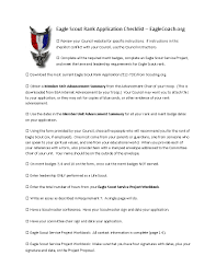 revised eagle application checklist eaglecoach orgeaglecoach org