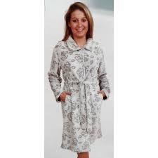 robe de chambre en courtelle femme robe de chambre femme cocodream