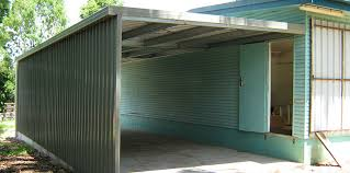 Building An Attached Carport Enclosed Carport Beautiful 18 Carports With Garage Style Partial