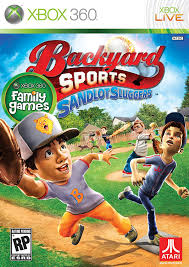 amazon com backyard sports sandlot sluggers xbox 360 video games