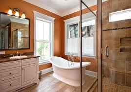 Rustic Paint Colors Warm Paint Colors Bathroom Rustic With Bright Transitional
