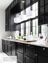 black kitchen design ideas 46 kitchens with entrancing black kitchen cabinets pictures