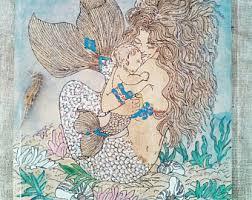 Mermaid Home Decor Mermaid Hanger Etsy