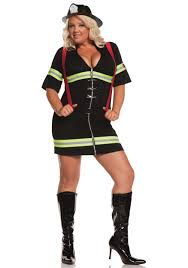 party city halloween costumes for plus size plus size firegirl costume