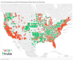 Zillow Value Map The Housing Recovery That Wasn U0027t Trulia U0027s Blog