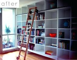 Rolling Bookcases Bookcase Find This Pin And More On Rolling Library Ladders By