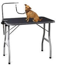 diy dog grooming table oxgord 36 pet grooming foldable table ptgr01 bk ebay