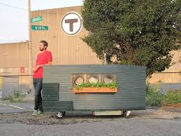 tiny home airbnb boston artist builds