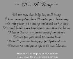 baby boy poems miscellaneous poems fjj creations
