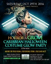 horror at the grove halloween glow party tickets sat oct 29