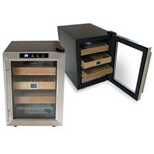 clevelander electronic cigar humidor cabinet