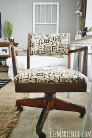 Vintage Desk Ideas Vintage Desk Chair Makeover Liz Marie Blog