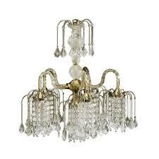 Brushed Brass Chandelier Ore International 5 Light Antique Brass Chandelier 1966ab The