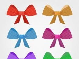 decorative bows decorative bows in blue colors free vectors ui