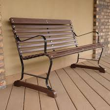 ivy terrace 48 inch bench commercial collections