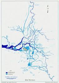 san francisco delta map california delta map