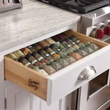 good looking kitchen spice drawers cabinets organization rack