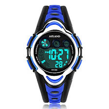 watches for amazon com azland waterproof swimming led digital sports watches