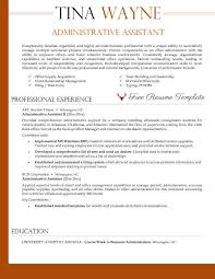 administrative resume template communications senior manager drc reliefweb free resume