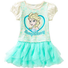 disney frozen toddler girls u0027 tee shirt tutu dress walmart com