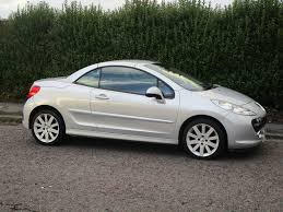 peugeot convertible used peugeot 207 cc convertible 1 6 16v gt 2dr in wallasey wirral