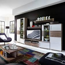 Wohnzimmer Ohne Wohnwand Jam Wohnwand Weiß Silbereiche Wohnzimmer Möbel Günstig