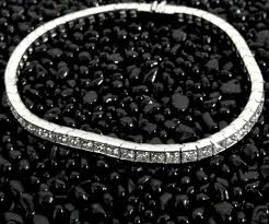 black diamond gold bracelet images 18kt white gold 0 51ct diamond tennis bracelet d 39 antonio klein jpg