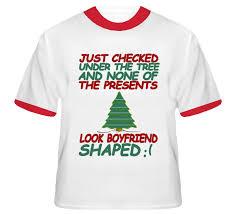 christmas shirts checked the tree boyfriend shaped christmas t shirt