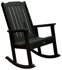 Chair Furniture Amish Outdoor Rocking Amazon Com Highwood Lehigh Rocking Chair Charleston Green
