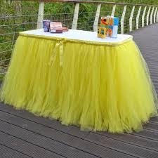 Cloth Table Skirts by Online Get Cheap Tutu Table Skirt Custom Aliexpress Com Alibaba