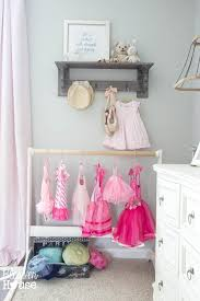 Pink And Grey Girls Bedroom Ballerina Bedroom Makeover Reveal