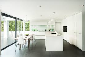 kitchen minimalist kitchen design with terrific modern white