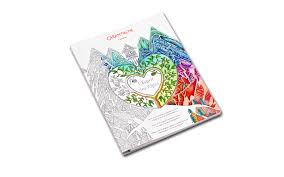Carnet de coloriage pour adultes LESPRIT DES ALPES  Caran dAche