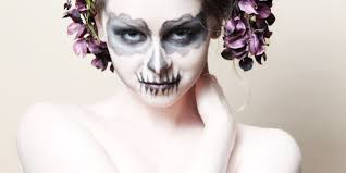 Halloween Face Paint Ideas Skeleton by Halloween Makeup Ideas Become A Zombie Or Corpse Bride With
