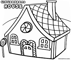 download coloring pages gingerbread house coloring pages