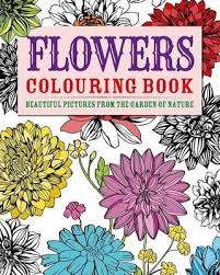 flowers colouring book arcturus publishing 9781782121800