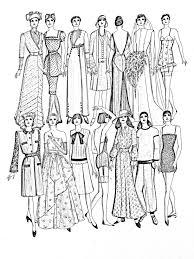Mode differents styles 20e siecle  Mode vêtements et bijoux