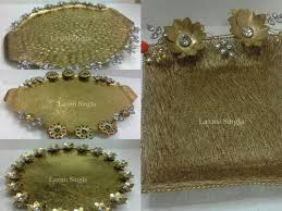 metal platters designer metal platters big metal thaal manufacturer from delhi