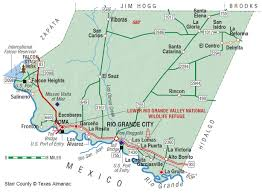 Texas Mexico Border Map by Starr County The Handbook Of Texas Online Texas State