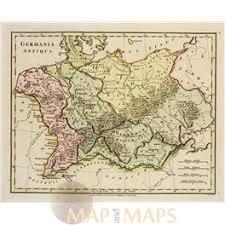 germania map germany poland map germania antiqua wilkinson 1798