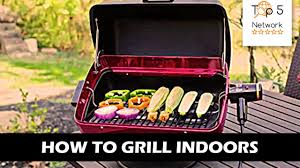 Outdoor Electric Grill Top 5 Indoor Outdoor Electric Grills Youtube